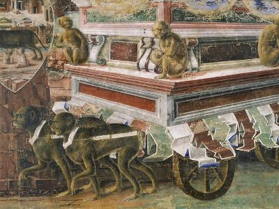 Chariot Drawn by Monkeys--Giclee Print