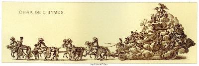 Chariot of the Hymen-Merry Joseph Blondel-Giclee Print