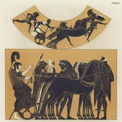 Chariot Scenes from Ancient Greece--Giclee Print