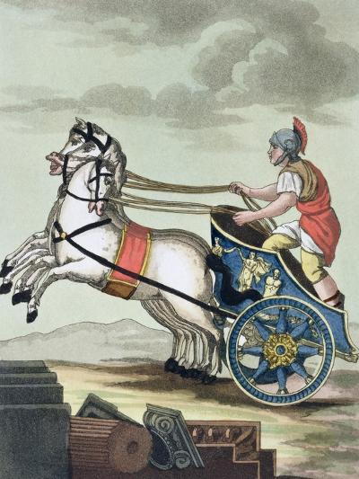 Charioteer, from L'Antica Roma, 1825--Giclee Print