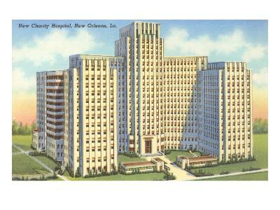 Charity Hospital, New Orleans, Louisiana--Art Print