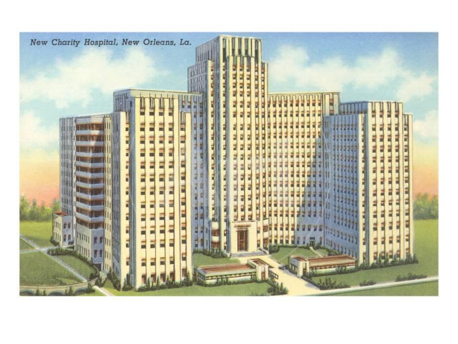 Charity Hospital, New Orleans, Louisiana Art Print by | the NEW Art.com