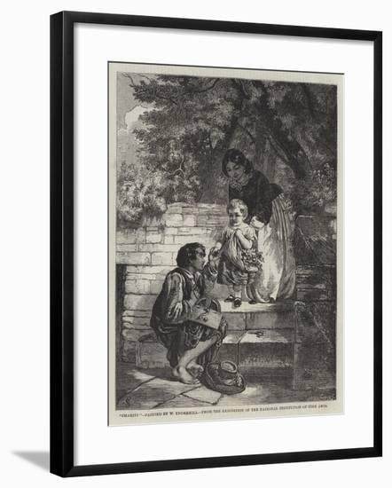 Charity-William Underhill-Framed Giclee Print