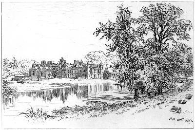 Charlecote Park, Warwickshire, 1885-Edward Hull-Giclee Print