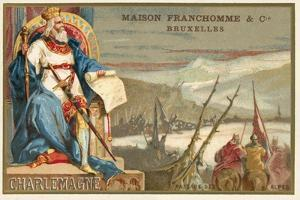 Charlemagne and the Crossing of the Alps