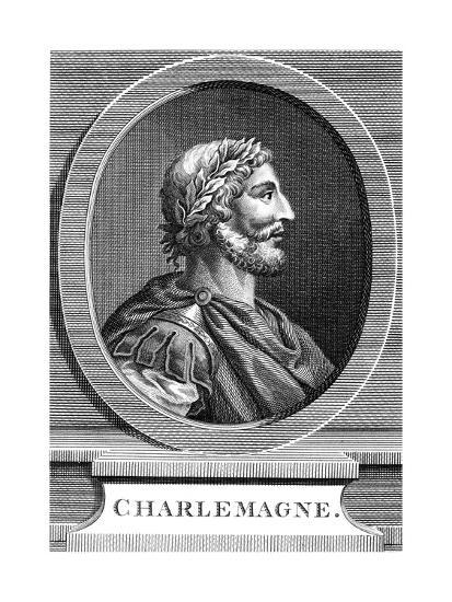 Charlemagne, King of the Franks--Giclee Print