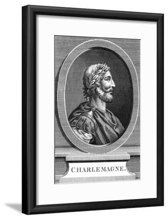 Charlemagne, King of the Franks--Framed Giclee Print