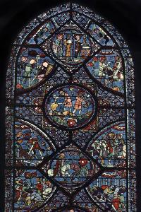 Charlemagne Window, Cathedral of Chartres, France, C1225