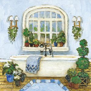 Pampered Bath II by Charlene Olson