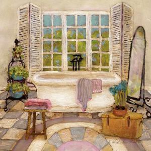 Sunny Day Bath II by Charlene Olson