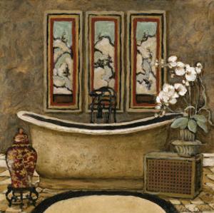 Asian Warmth II by Charlene Winter Olson