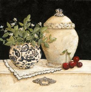 Cherry Still Life by Charlene Winter Olson