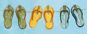 Flip Flops I by Charlene Winter Olson