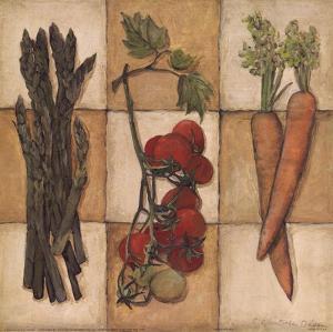 Fresh Veggies I by Charlene Winter Olson