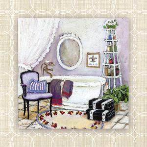 Lavender Scented Bath I by Charlene Winter Olson