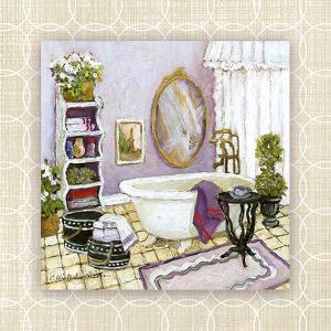 Lavender Scented Bath II by Charlene Winter Olson