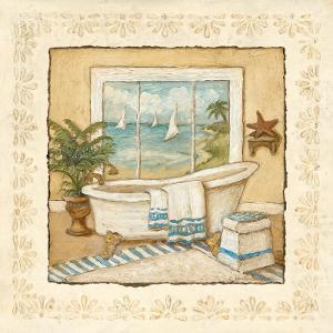 Ocean View Bath I by Charlene Winter Olson