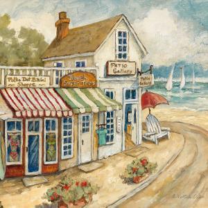 Ocean Village I by Charlene Winter Olson