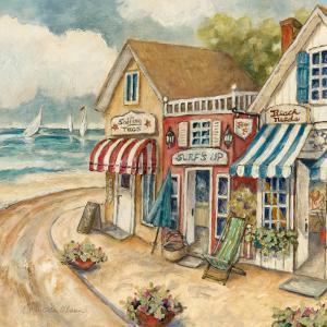 Ocean Village II by Charlene Winter Olson