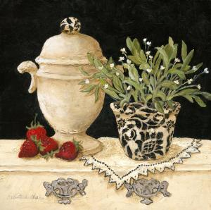 Strawberry Still Life by Charlene Winter Olson