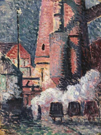 Charleroi, 1896-Maximilien Luce-Giclee Print