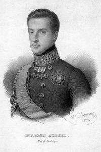 Charles Albert of Sardinia, King of Sardinia, 1836