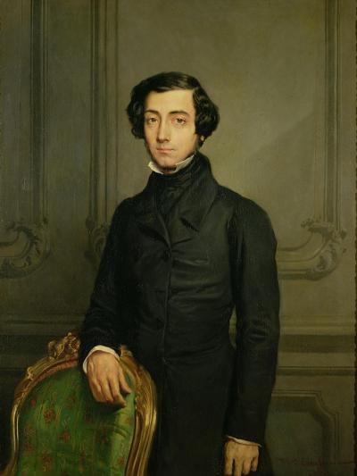 Charles-Alexis-Henri Clerel De Tocqueville (1805-59) 1850-Theodore Chasseriau-Giclee Print