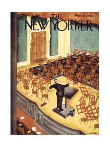 The New Yorker Cover - October 6, 1934 by Charles Alston