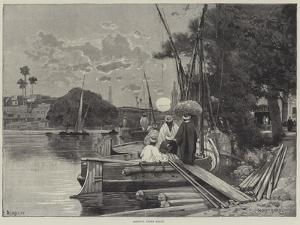 Assiout, Upper Egypt by Charles Auguste Loye