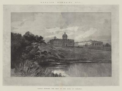 Castle Howard, the Seat of the Earl of Carlisle