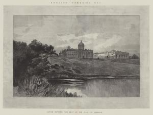 Castle Howard, the Seat of the Earl of Carlisle by Charles Auguste Loye