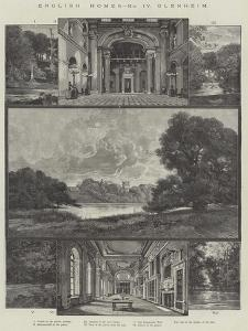 English Home, Blenheim by Charles Auguste Loye