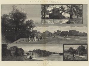 English Homes, Blenheim by Charles Auguste Loye