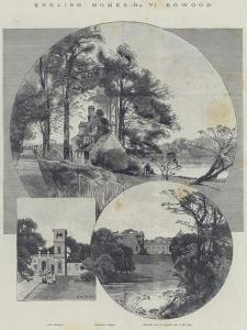 English Homes, Bowood by Charles Auguste Loye