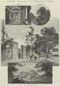 Kimbolton Castle by Charles Auguste Loye