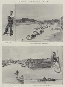 Notable French Forts by Charles Auguste Loye