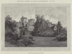 Powderham Castle by Charles Auguste Loye