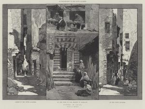 Scenes in Cairo by Charles Auguste Loye