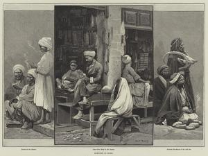 Sketches in Cairo by Charles Auguste Loye