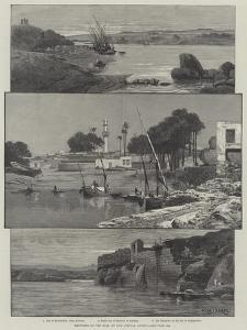 Sketches on the Nile by Charles Auguste Loye