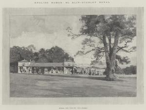 Studley Royal by Charles Auguste Loye