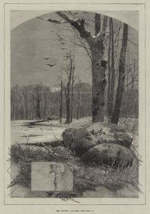 The Months, January by Charles Auguste Loye