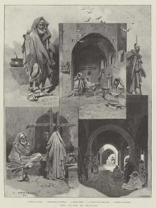 The Prison at Tangier by Charles Auguste Loye