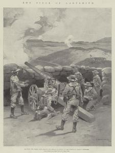 The Siege of Ladysmith by Charles Auguste Loye