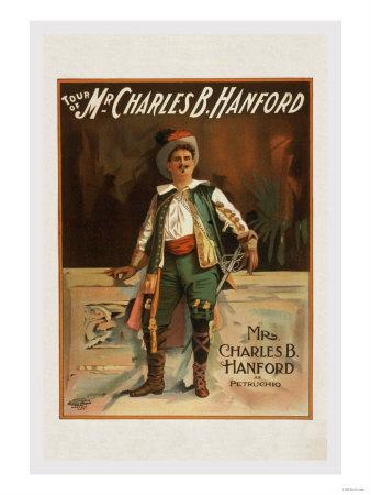 Charles B. Harford in Taming of the Shrew--Art Print