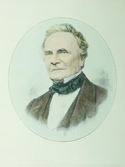 Charles Babbage-Dr. Jeremy Burgess-Photographic Print