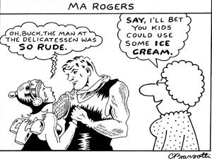Ma Rogers - New Yorker Cartoon by Charles Barsotti