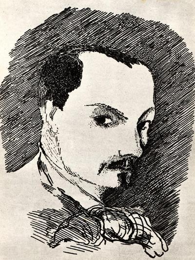 Charles Baudelaire (1821-186)-Henri de Toulouse-Lautrec-Giclee Print