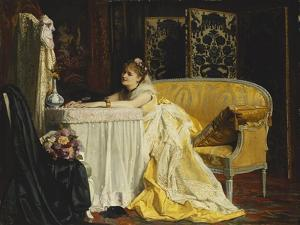 After the Ball by Charles Baugniet