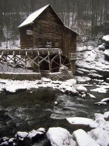 Old Mill, Babcock State Park, West Virginia by Charles Benes